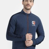 Monte Carlo Men Blue Printed Sweatshirt